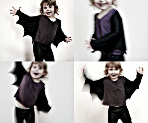bat wings for your kid (via mypoppet)