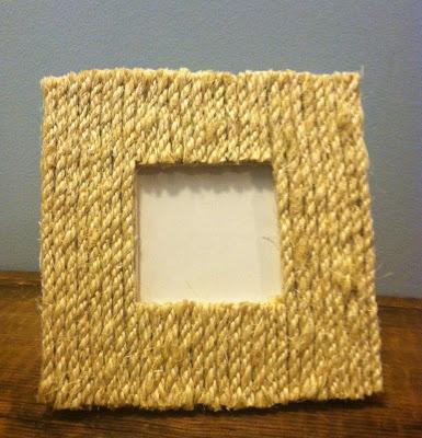 sisal rope beach frame