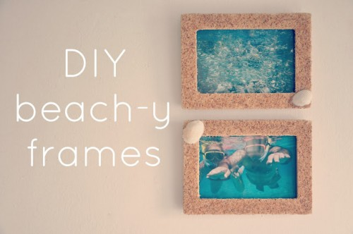 beachy photo frames (via mistergandmecrafts)