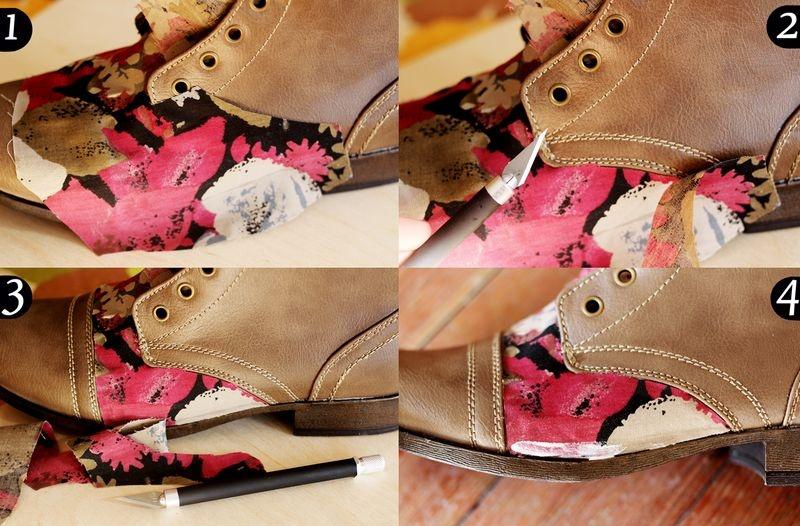 Украшения на обуви своими руками