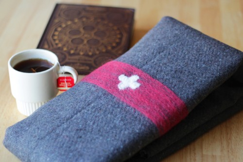 Swiss army wool blanket (via handsoccupied)