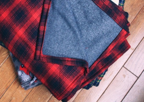 flannel throw (via letsgosunning)