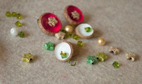 Amazing Diy Autumn Necklace Of Acorns