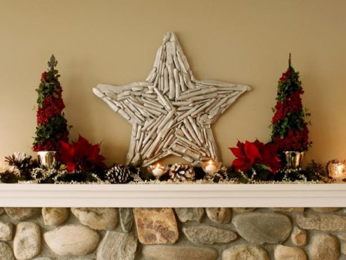driftwood star decoration (via diynetwork)