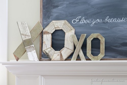 rustic wood letters (via findinghomeonline)