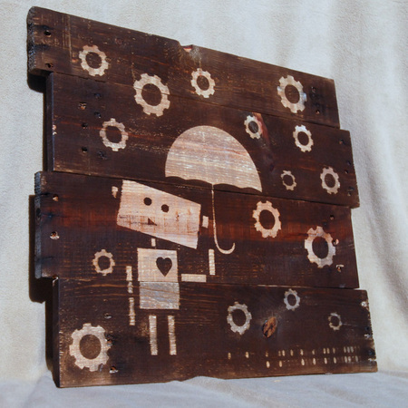 funny reclaimed wood wall art (via domesticated-engineer)