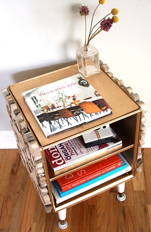 Amazing Diy Drawer Decorated With Natural Wood