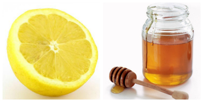 skin-smotthing honey and lemon facial mask