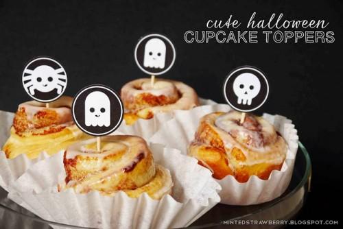 cute printable cupcake toppers (via mintedstrawberry)