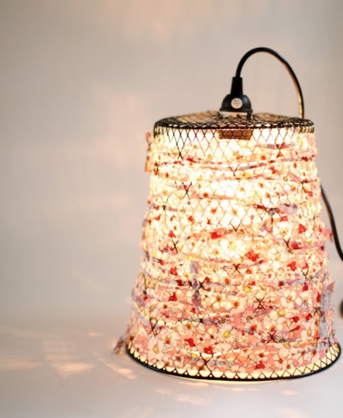 Amazing Diy Lamp Of A Waste Bin