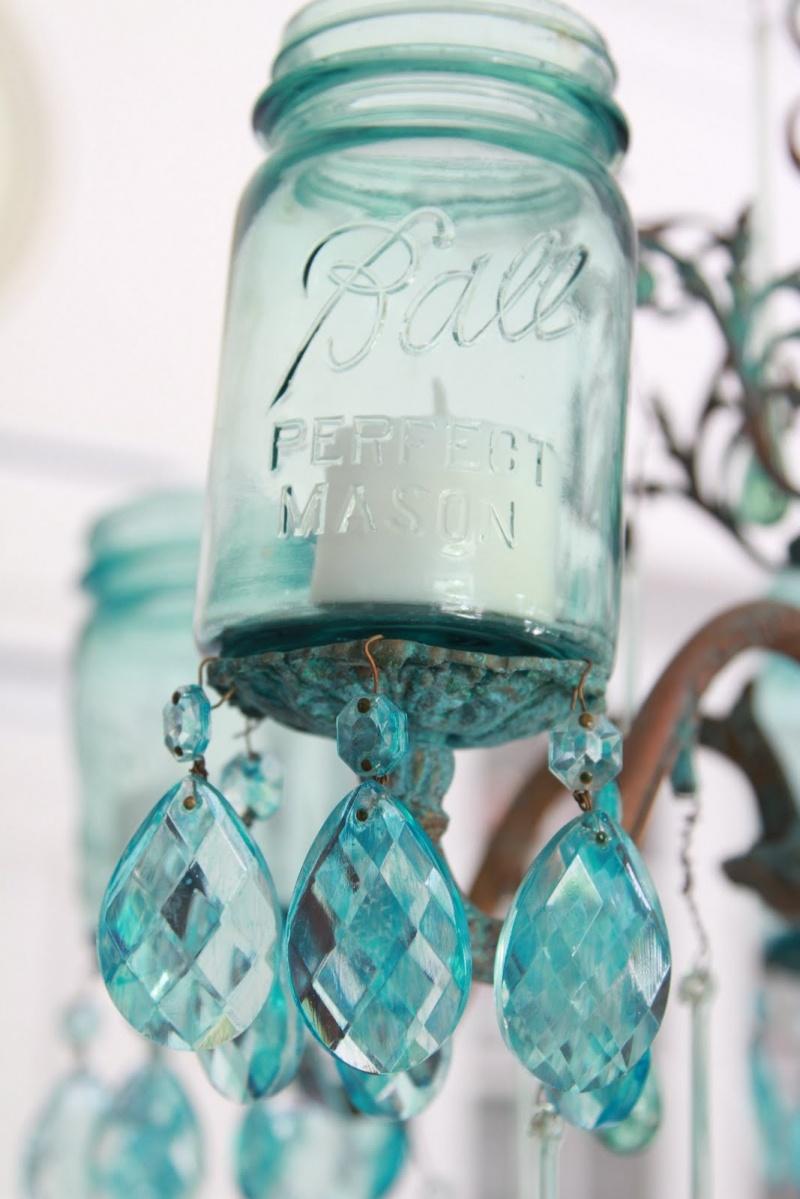 Picture Of Amazing Diy Mason Jar Chandelier – Mason Jar Chandelier Diy
