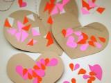 DIY Valentine's day heart card