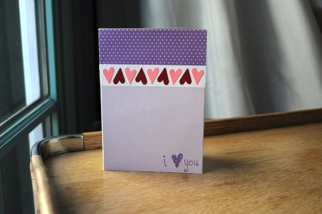 simple DIY card