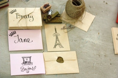 DIY card sets (via thetastefullife)