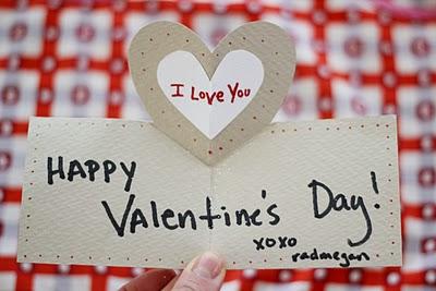 pop-up heart Valentine