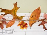 fall leaves indoor garland