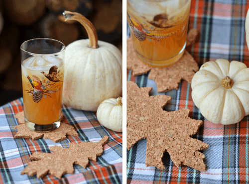 autumn leaf coasters (via fineandfeathered)