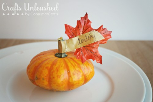 fall place setting (via craftsunleashed)