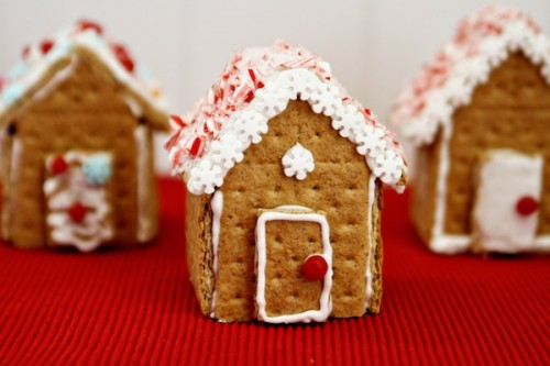 traditional gingerbread houses (via celebrations)