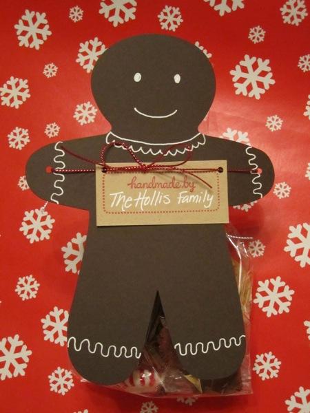 gingerbread treat bags (via mychiclife)