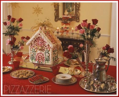 open-end gingerbread house (via pizzazzerie)
