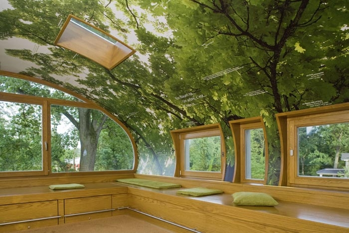 Amazing Tree House Office Shelterness