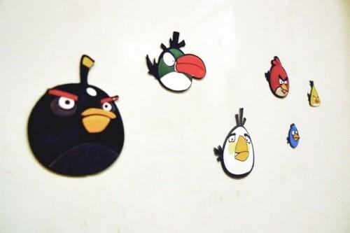 Angry Birds Fridge Magnets