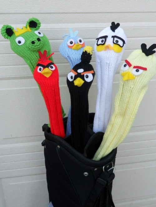 Angry Birds Golf Headcovers