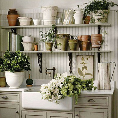 Antique Looking Potting Shed
