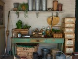 Antique Potting Shed