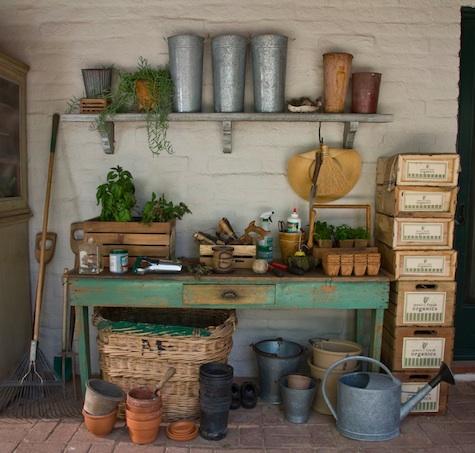 Antique Potting Shed