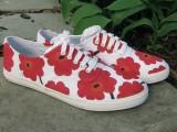 DIY Marimekko Sneakers