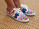 DIY Missoni Sneakers