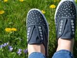 DIY Polka Dot Sneakers