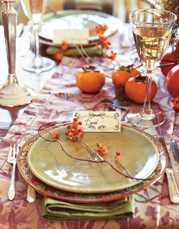 Autumn Table Decorating Ideas