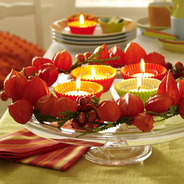 67 Cool Fall Table Decorating Ideas