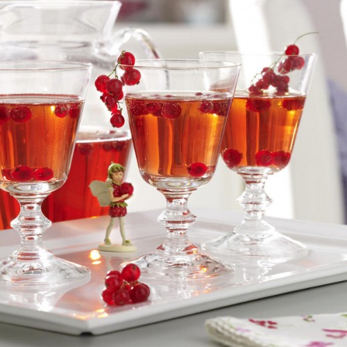 Cranberries are great for decorating and coloring during the cooler months. Although you can start early and use them in fall's table settings too.