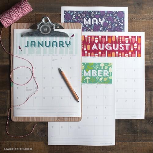 printable 2015 calendar (via liagriffith)