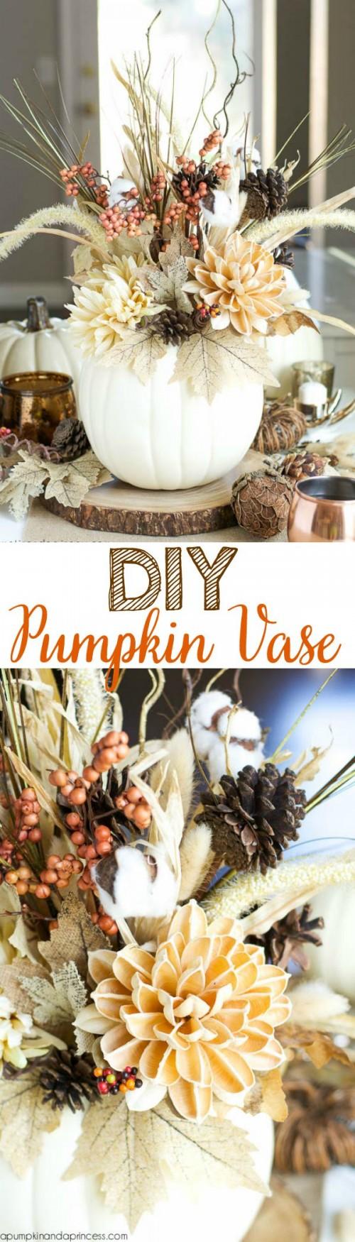 pumpkin vase (via apumpkinandaprincess)
