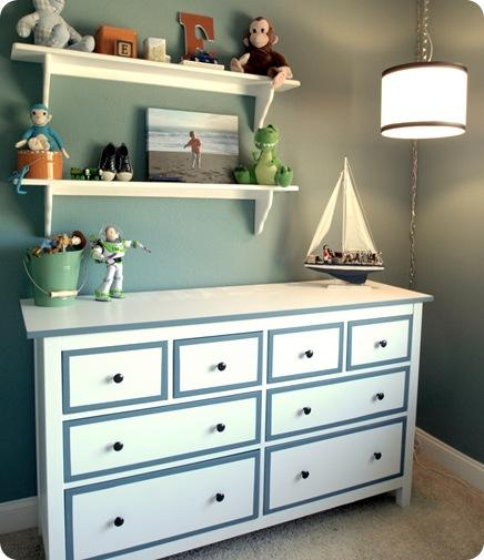 dresser for a boys' room (via centsationalgirl)