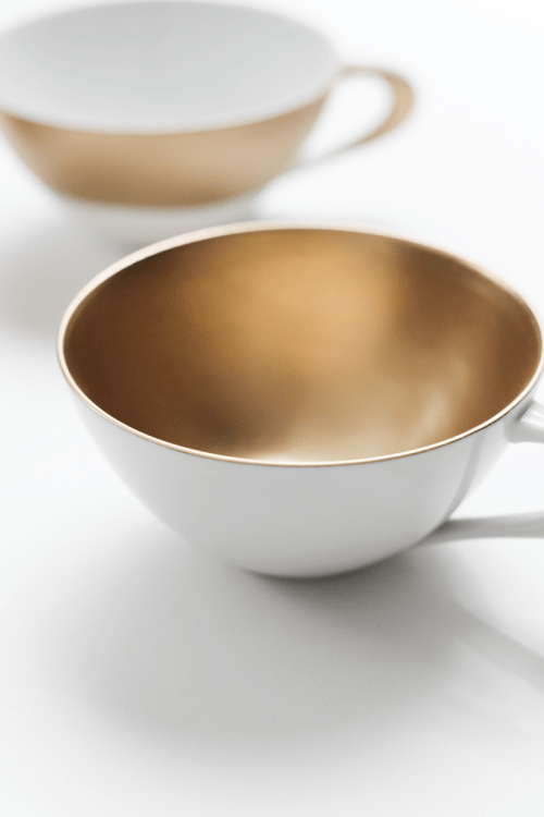 Awesome And Simple Diy Metallic Teacups