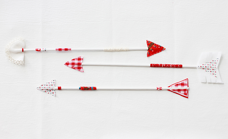 Valentine's bow and arrows
