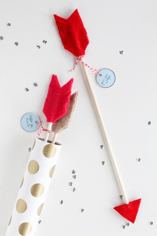 cute date arrows