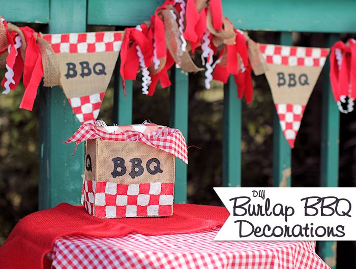 9 Awesome Barbeque Party Crafts