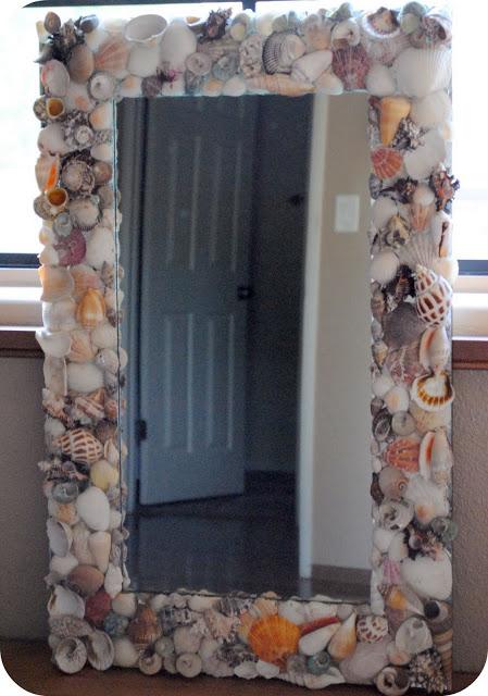 sea shells mirror (via leelala)