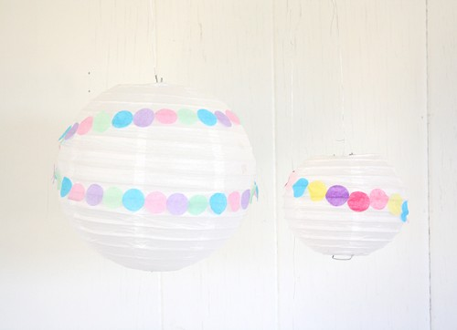 confetti party lanterns (via abubblylife)