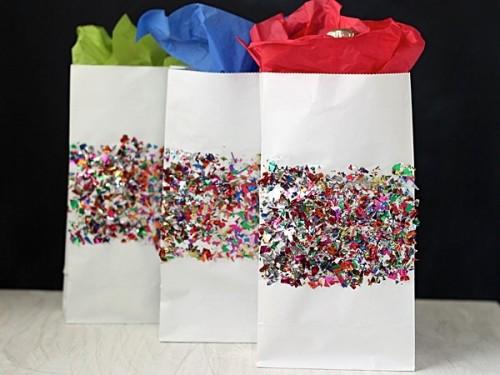 confetti gift wraps (via modpodgerocksblog)