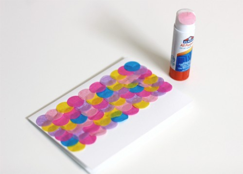 confetti cards (via insidemyhideaway)
