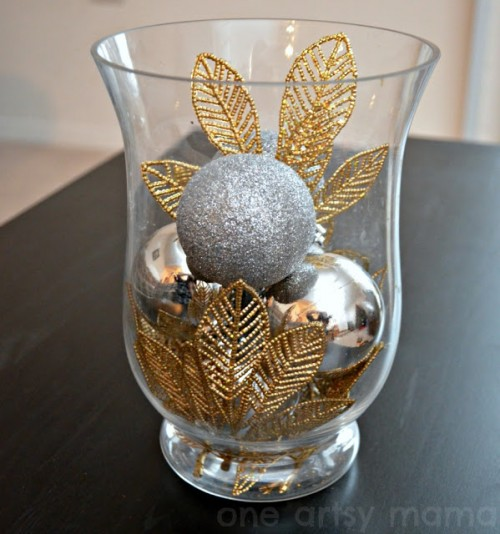 sparkling New Year centerpiece (via oneartsymama)
