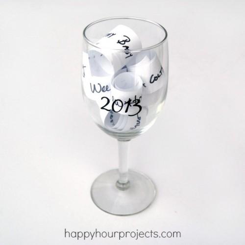 New Year wish glass (via happyhourprojects)